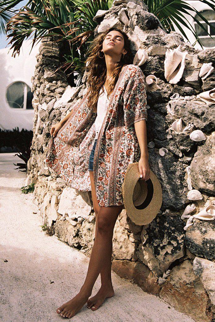 3d3346f0a2c0 Primrose Kimono Ivory - Arnhem Clothing
