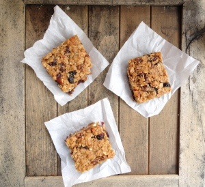 Fully Loaded, Thick and Chewy Granola Bars - Vegan