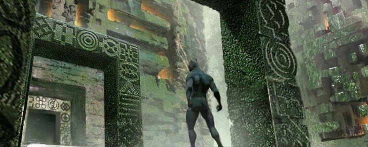 'Black Panther': descubre la espectacular Wakanda en los nuevos concept art  Noticias de interés sobre cine y series. Estrenos trailers curiosidades adelantos Toda la información en la página web.