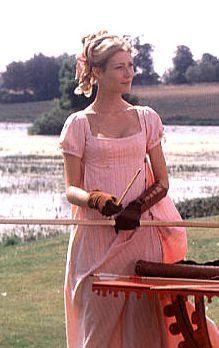 Emma (1996) Film Costumes   Sense & Sensibility Patterns