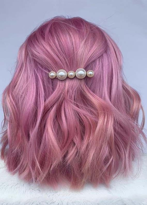Fantastic Platinum Pink Hair Color Shades You Must Wear in 2019
