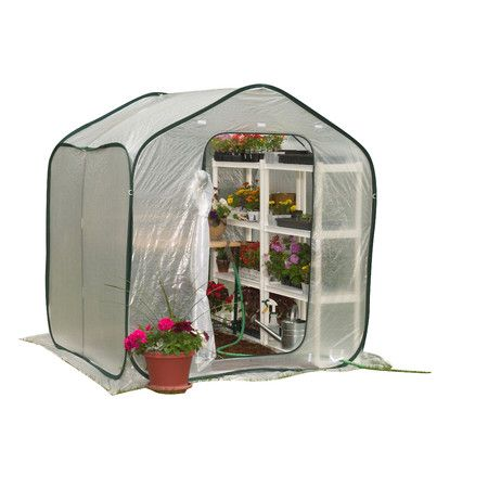 Spring Gardener Flower House Lightweight Greenhouse X The Spring House Is  Perfect For Improving Climatic Conditions In All Geographic Locations.