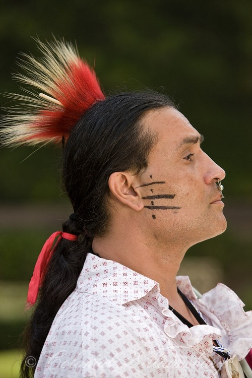 Current day Shawnee Indian; love the pride he has; Americans stole from the Indian tribes and treated them so badly.