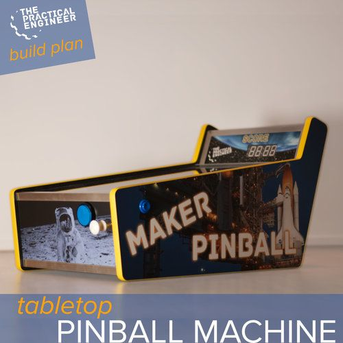 DIY Woodworking Ideas How to make a tabletop pinball machine