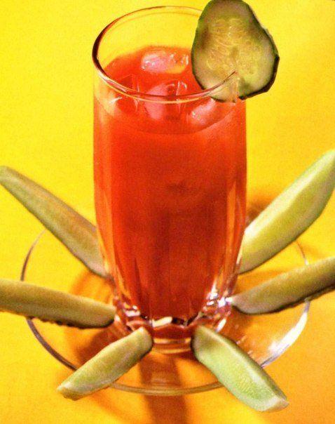 Овощной коктейль «Гаспачо чиллер»