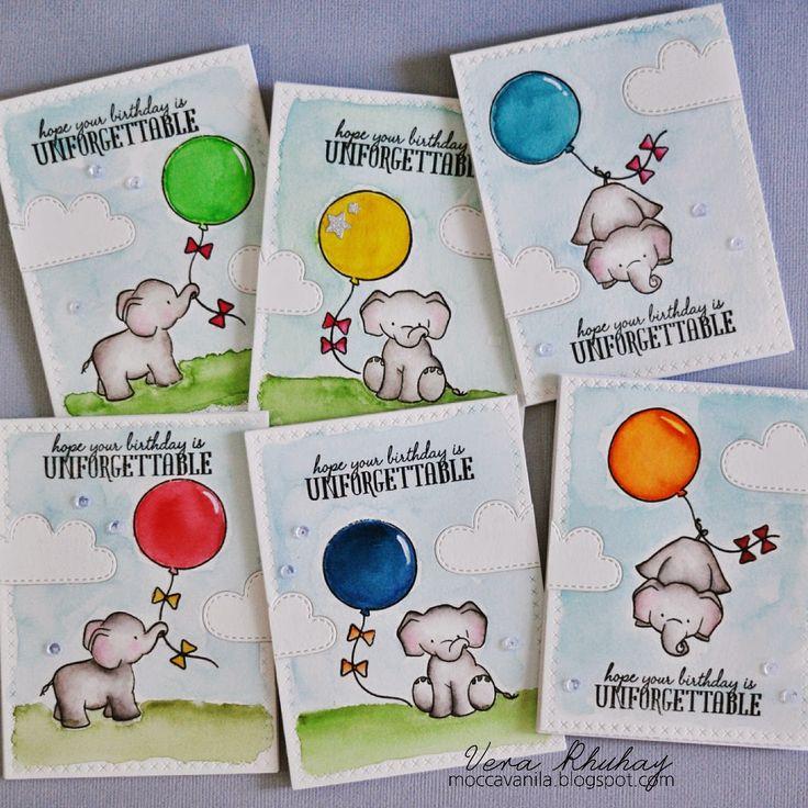 Vera Rhuhay | moccavanila: Unforgettable Birthday Card