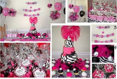 Pink & Zebra print!