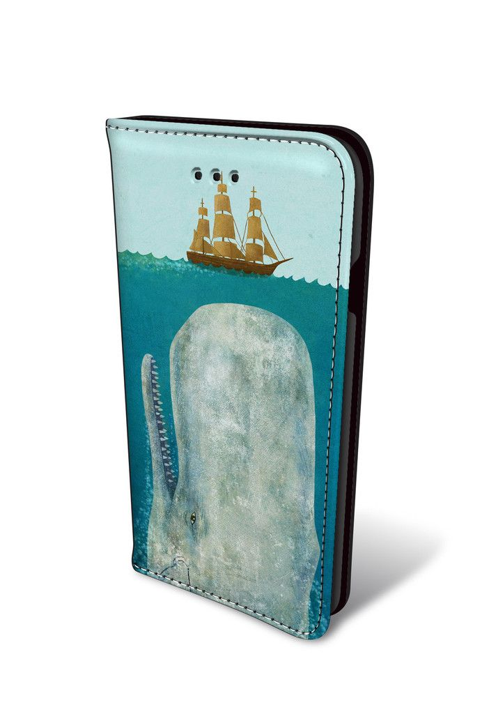 The Whale iPhone Wallet Case