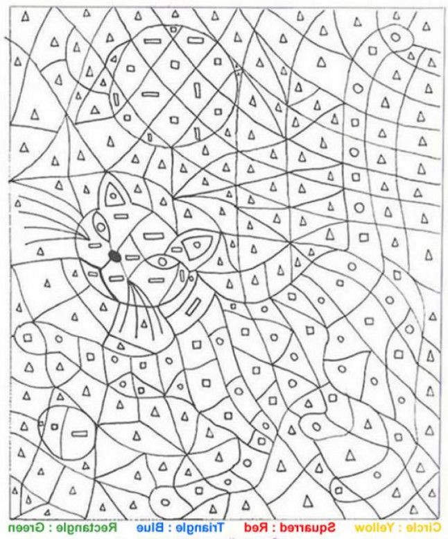 15 Questions To Ask At Color By Number Cat Coloring Pages Coloring Coloring Pages For Teenagers Color By Numbers Coloring Pages