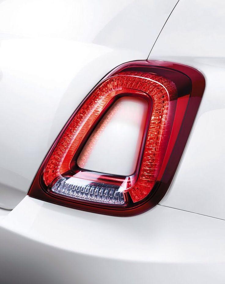 Oryginalne detale Fiata 500.