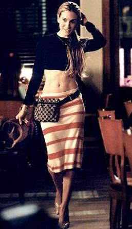 A Carrie Classic: Crop Tops, Carriebradshaw, Belts Bags, Style Icons, The Cities, Carrie Bradshaw, Cars Accessories, Sarah Jessica Parker, Fanny Packs