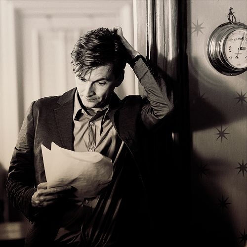 David Tennant.  I may have pinned this several times, but damn if it isnt so good, it needs pinning one more time!