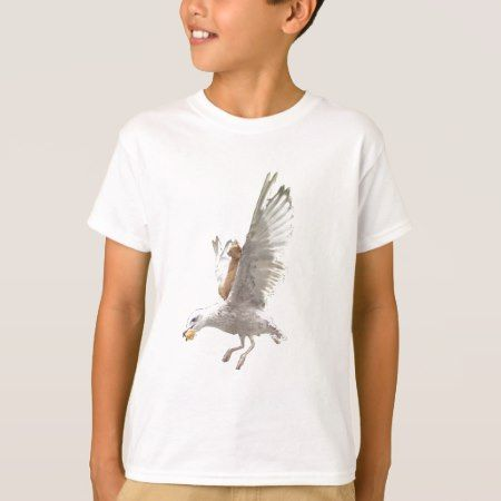The Orange Cat and The Seagull T-Shirt - click to get yours right now!