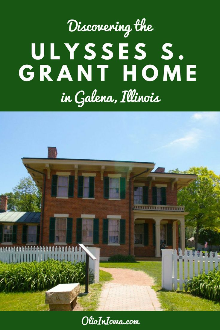 Discover a unique piece of presidential history in Galena, Illinois at the historic Ulysses S. Grant home!