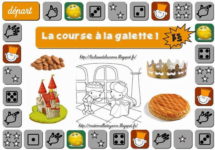 Maternelle et Direction de yann: La course à la galette !!!!!
