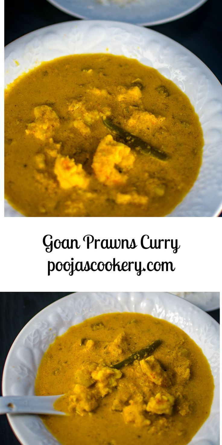 his is a Goan speciality. One of my favorites. Goan Prawn Curry recipe is a classic curry made with prawns (shrimps) and coconut gravy. Hing or Asafoetida gives it a special flavor.