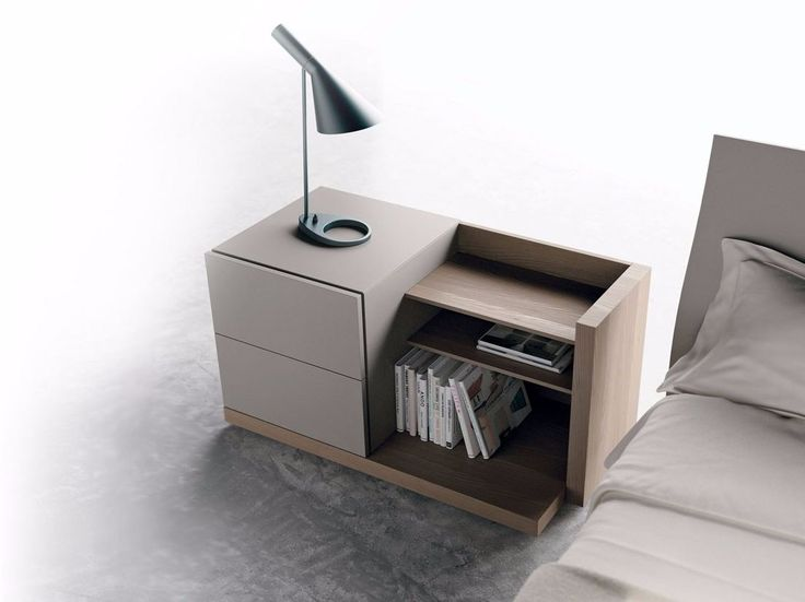 Free standing wooden chest of drawers FILBOOK by Caccaro