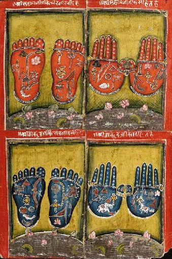 Vishnu's Hands and Feet