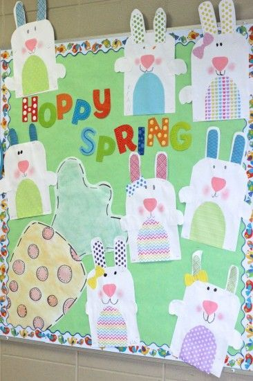 This Hoppy Spring! - Seasonal Bulletin Board is just one of our many bulletin board ideas. We have thousands of fun and unique teaching ideas that are great for