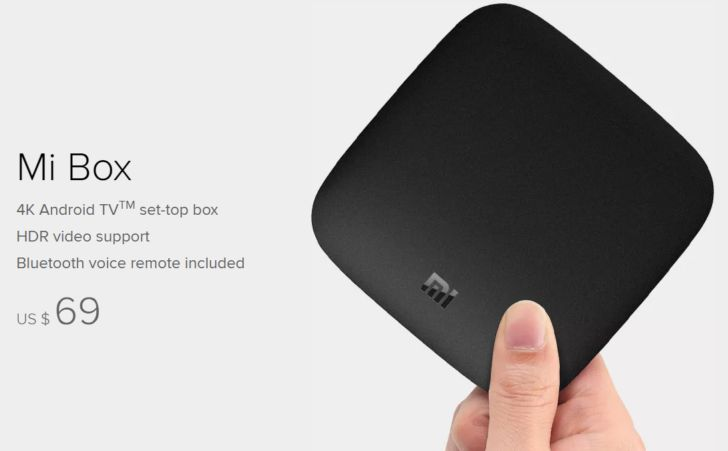 The Mi Box is officially launching today for $69