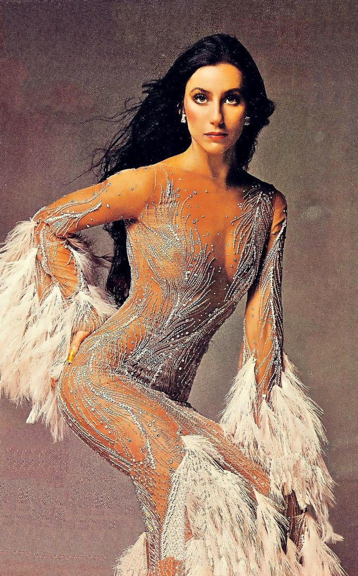 bob mackie dress & cher!