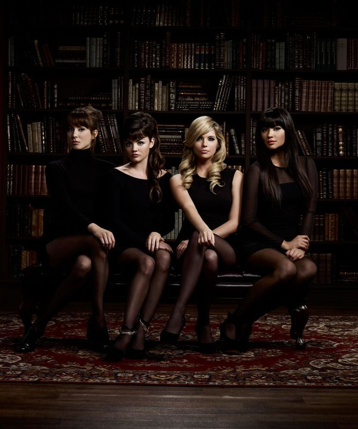 16 wildly inappropriate outfits that the Pretty Little Liars wore to funerals