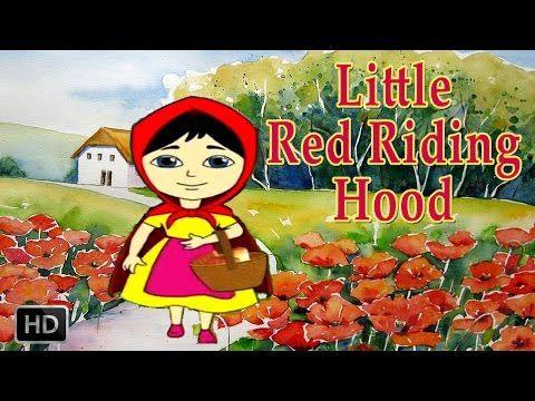 Little Red Riding Hood - Full Story - Grimm's Fairy Tales - YouTube wolf valt dood op de grond, door stenen, niet in waterput