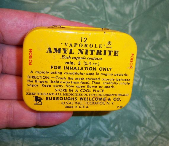 Hey, I found this really awesome Etsy listing at http://www.etsy.com/listing/116344916/vintage-amyl-nitrate-yellow-tin-pill-box