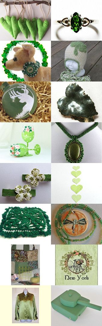 When Irish Eyes are Smiling ... by Angela on Etsy--Pinned with TreasuryPin.com