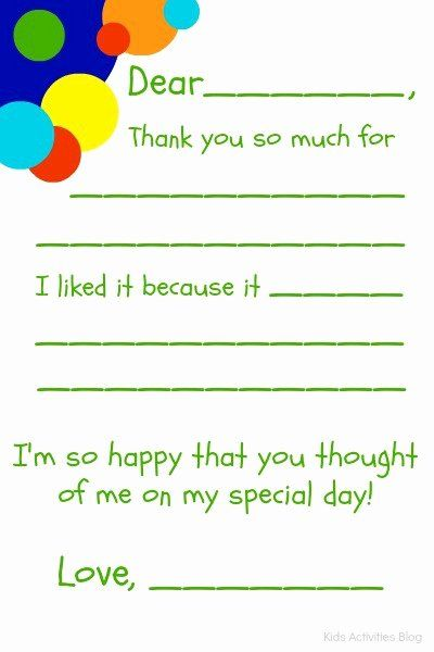 Blank Note Card Template Luxury Fill In The Blank Thank You Note Free Printable Note Card Template Thank You Cards From Kids Free Thank You Cards