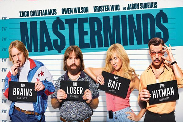 Masterminds is an upcoming American heist comedy film based on the 1997 Loomis Fargo Robbery in North Carolina, directed by Jared Hess.