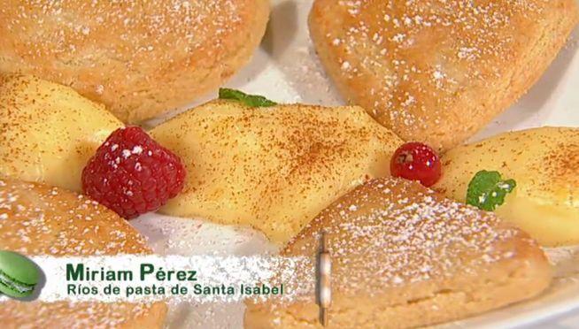 El recetario de 'Deja sitio para el postre' Receta de las pastas de Santa Isabel