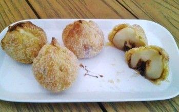 Perenbollen, Vers gebakje van fruit en bladerdeeg