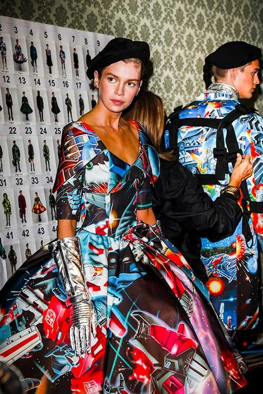 Moschino x Transformers Collection at Milan Fashion Show - Transformers News - TFW2005