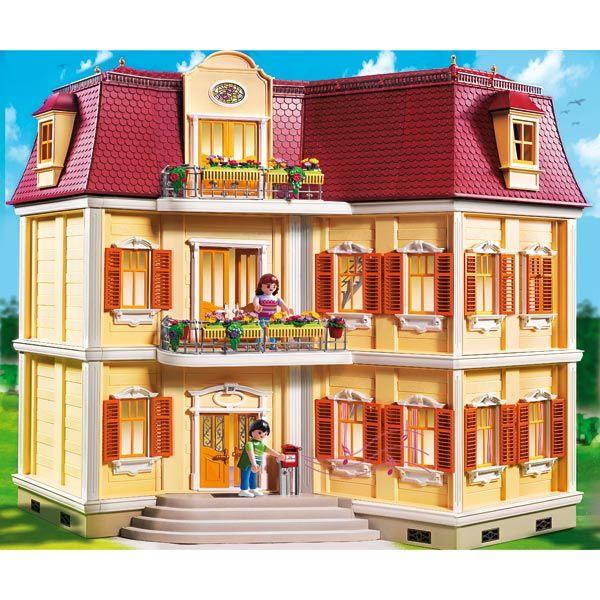 5302-Maison de Ville Playmobil : Bienvenue dans la maison de ville d'Alex et Amandine !   Elle est vraiment très spacieuse et offre de belles pièces ouvertes et lumineuses.   Contient...King Jouet, retrouvez tout l'univers, Playmobil - Jeux d'imitation & Mondes imaginaires