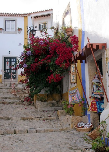 Obidos Portugal - one of my favourite places in Portugal