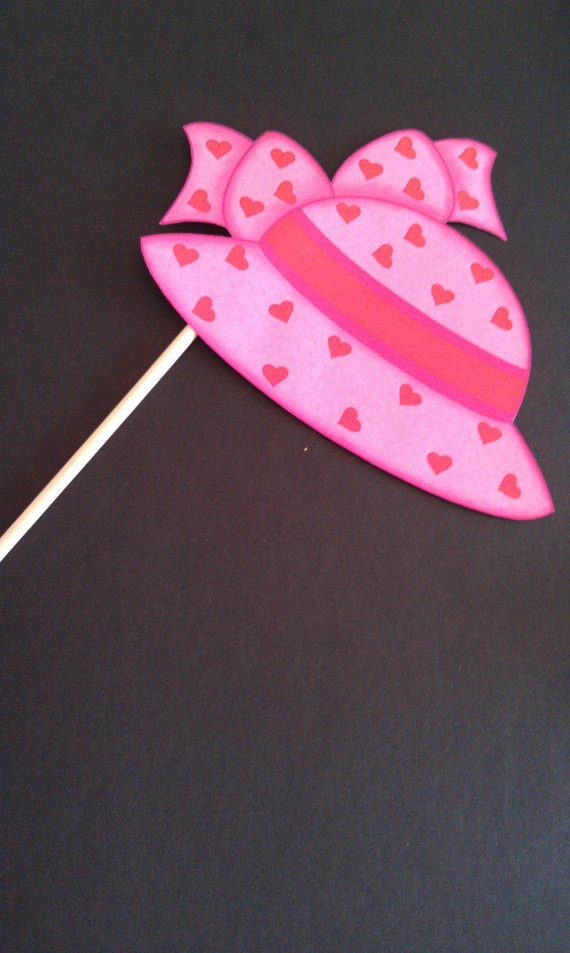 104 best photo booth props images on pinterest birthdays hat on a stick party prop do it yourself 300 via etsy solutioingenieria Gallery