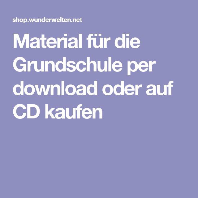 Material für die Grundschule per download oder auf CD kaufen