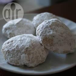 Итальянское миндальное свадебное печенье