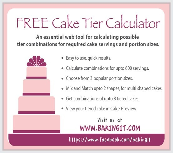Pricing Tool: FREE Cake Tier Calculator, This Cake Tool Helps You