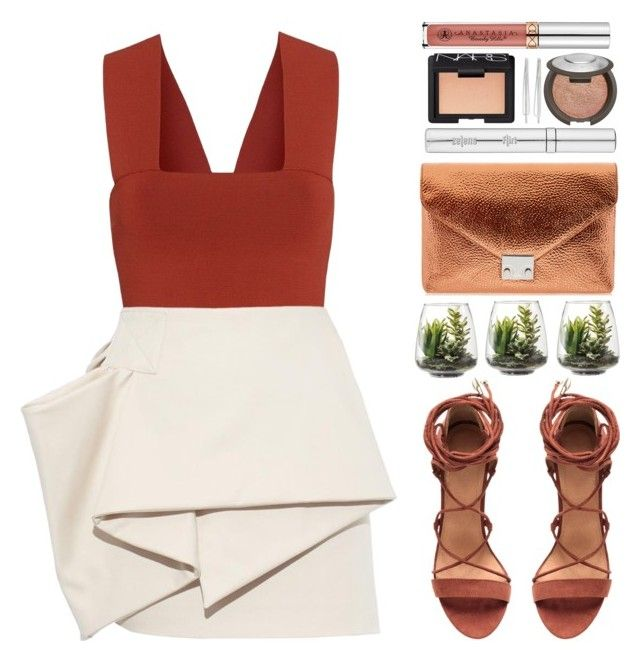 """""""#881 Trudy"""" by blueberrylexie ❤ liked on Polyvore featuring A.L.C., Marc by Marc Jacobs, Loeffler Randall, Threshold, Cara, Zelens, Becca and NARS Cosmetics"""