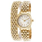 Michael Kors Women's Lexington Gold-Tone Steel Watch