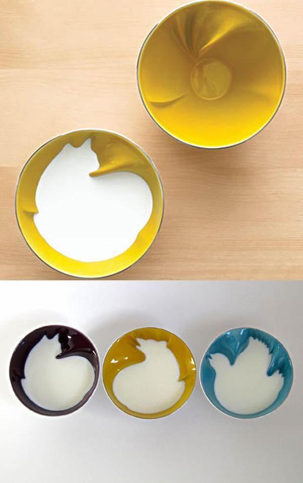 Animal shaped bowls
