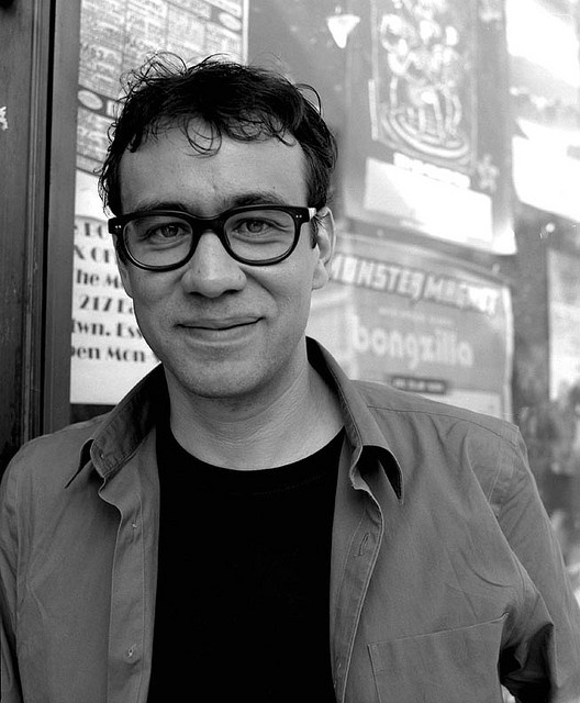 "I met Fred Armisen on the set of SNL when I played a stripper. He was in the scene and we joked about my being a real stripper, at which point I gave him the stripper nickname ""Purple Thunder"" :)"
