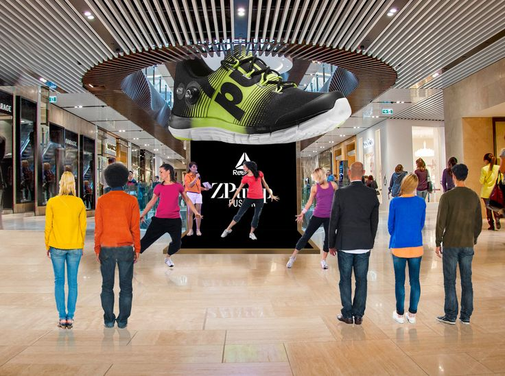 Mall Branding The concept is - get yourself activity oriented with Zpump. Artist performing dance workout/Zumba to engage the customers.