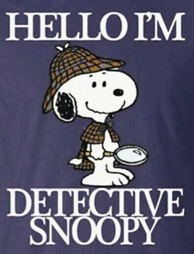 """Hello detective Snoopy, I am the thief of hearts""."
