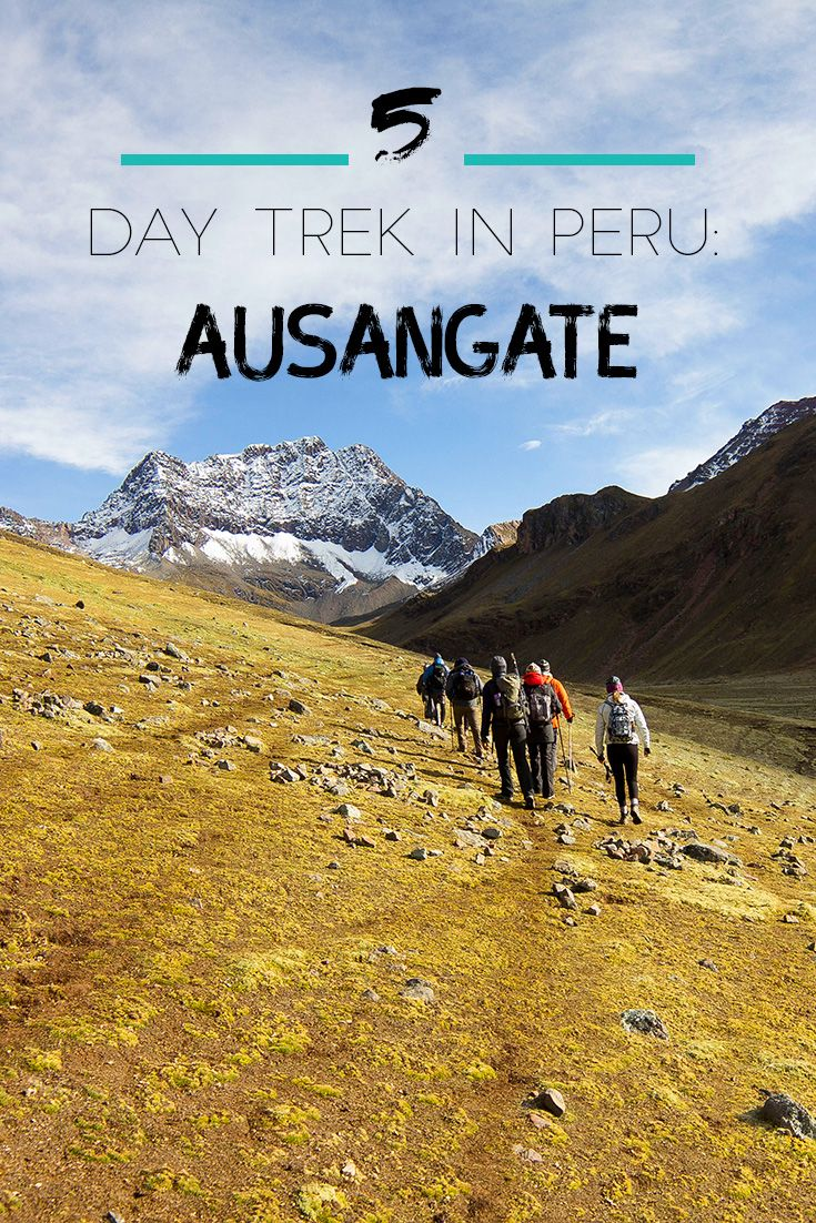Just 2 hours from Cusco is the Ausangate massif - a beautiful andean mountain range. We did a 5 day trek there - stunning! The tour operator was Apus Peru and we can highly recommend them.