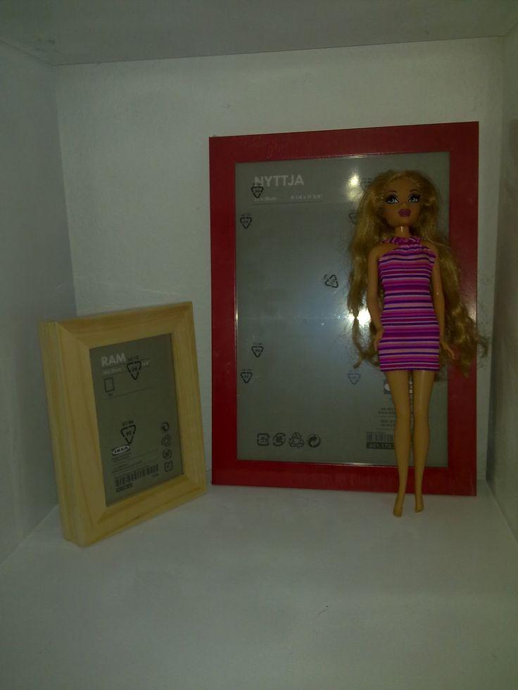 Simple Hier seht ihr den Anfang von Barbies K chenzeile Sie besteht aus Ikea Besteckst ndern