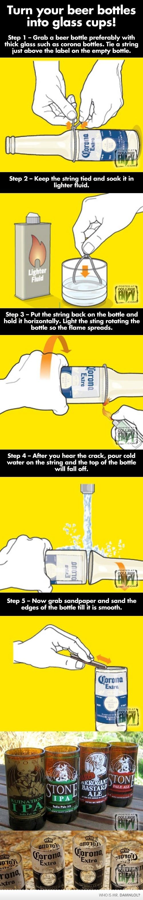 Always wondered how to do this!