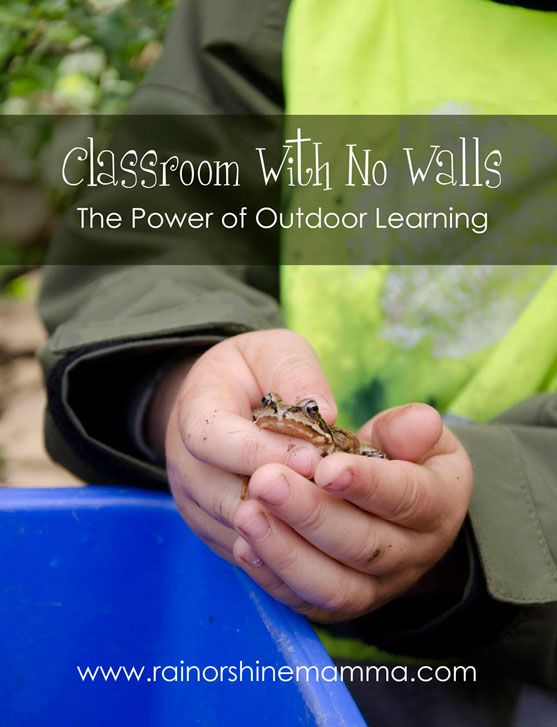 A Classroom With No Walls: The Power of Outdoor Learning By: Linda McGurk via Rain or Shine Mamma